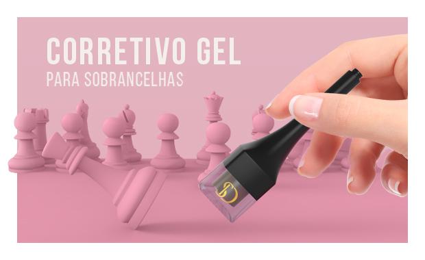 Mini Banner Sobrancelhas Corretivo Gel 05