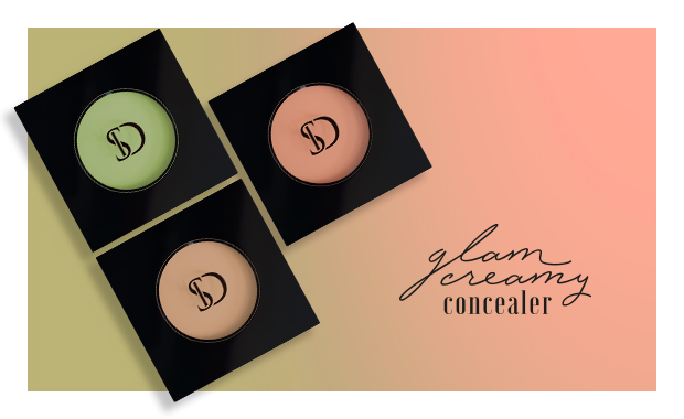 MB Rosto Glam Creamy Concealer 01