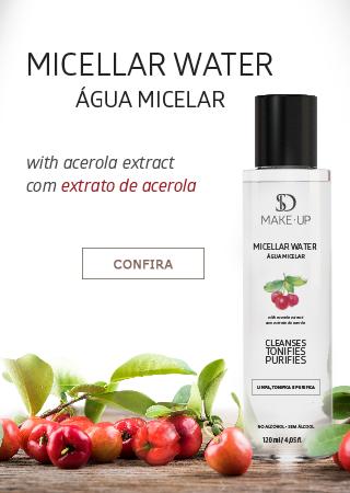 Banner Mobile Lançamento Água Micelar