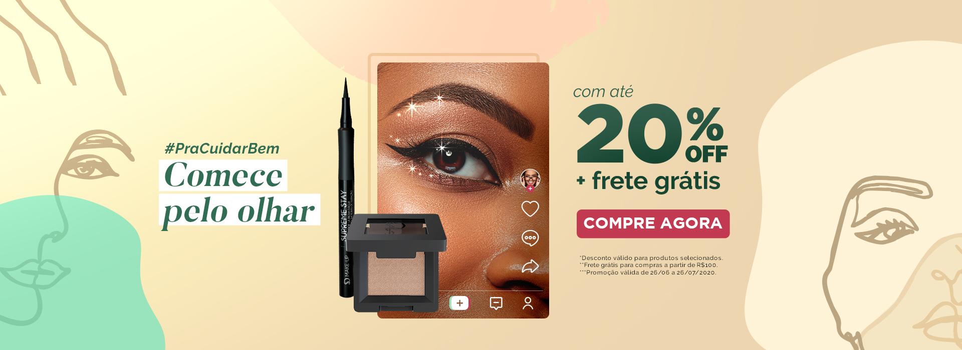 banner 20%OFF + frete grátis